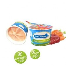 Frozen Yogurt - Beef & Carrot - (12 x 90ml) box