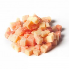 Papaya pieces IQF (10x10 mm) - 10kg