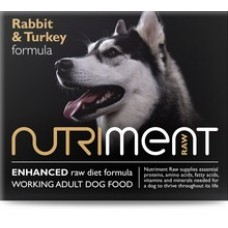 Nutriment - Rabbit with Turkey Formula - 500gm