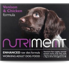 Nutriment - Venison with Chicken Formula - 500gm