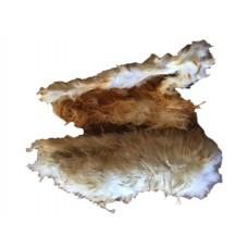 Dried Hairy Rabbit Skins - 100gm