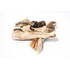 Dried Hairy Beef Skins - 100gm