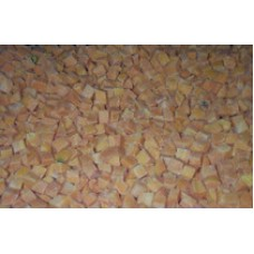 Carrot Pieces IQF (10x10mm) - 10kg box