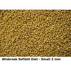 Wisbroek Softbill Diet 2mm pellet - 2.5kg